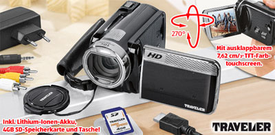 Traveler HD Camcorder