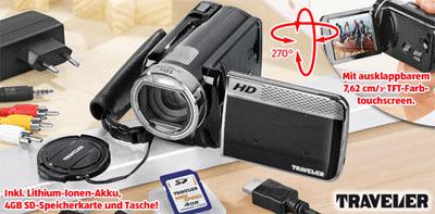 Traveler HD Camcorder