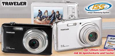 Traveler IS 12 Digitalkamera