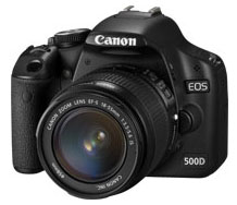 Canon EOS 500D + Kit 18-55mm Media Markt
