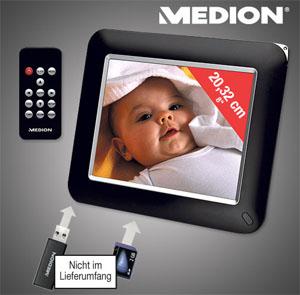 Medion Life E76013 digitaler Bilderrahmen