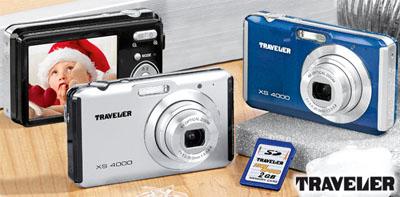 Traveler XS 4000 Digitalkamera bei Aldi