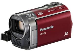 Panasonic SDR-S70, T70, H100