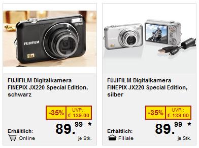 Fujifilm JX 220 Special Edition schwarz, silber