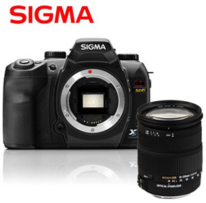 Sigma SD15 + Kit 18-200 mm OS Objektiv