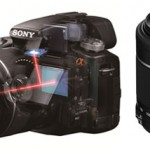 Sony Alpha SLT-A35: Kompakte Spiegelreflexkamera