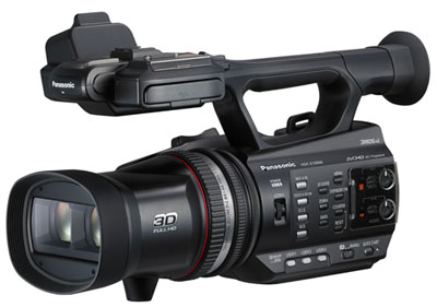 Panasonic HDC-Z10000 Full HD 2D/3D Camcorder